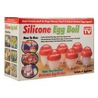 Силиконовые формы для варки яиц без скорлупы Silicone Egg Boil