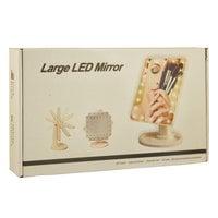 Зеркало LED с подсветкой для макияжа