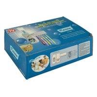 Автоматический дозатор для зубной пасты с держателем для щеток Kaixin