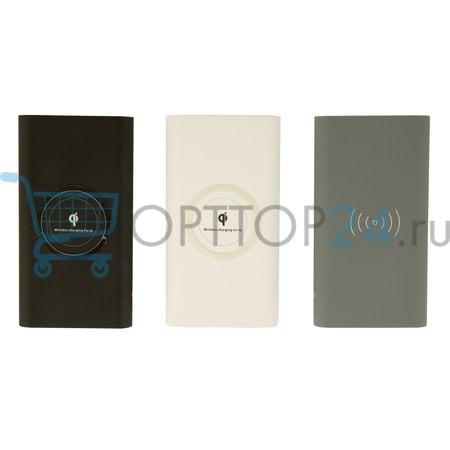 Беспроводное зарядное устройство Qi Power bank 20000 mAh оптом
