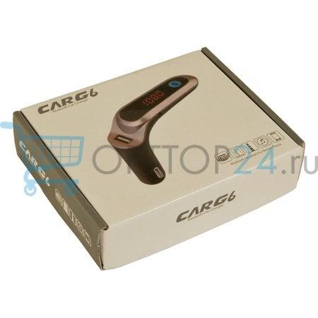Авто Bluetooth FM модулятор Car G6 оптом