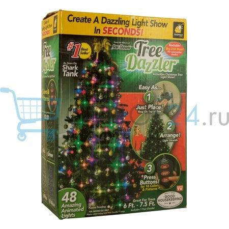 Елочная гирлянда Free Dazzler 48 лампочек оптом