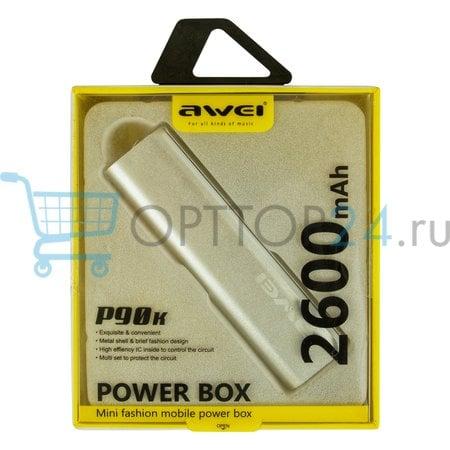 Power Bank Awei P90K 2600 мАч оптом