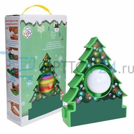 Набор для раскраски елочных шаров Magic Tree оптом