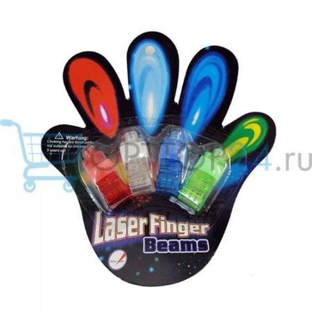 Комплект фонариков на пальцы Laser Finger Beams оптом
