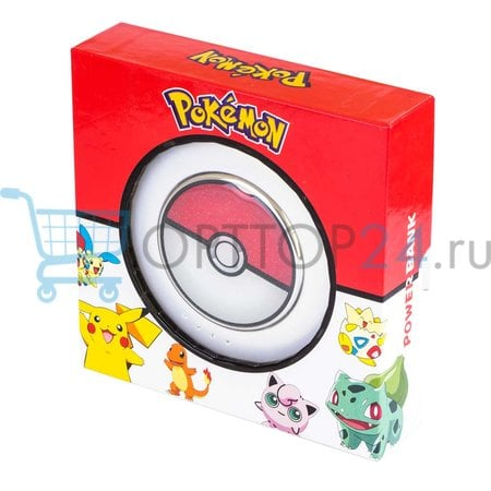 Power Bank PokeBall 10800mAh оптом
