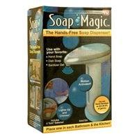 Сенсорная мыльница дозатор Soap Magic