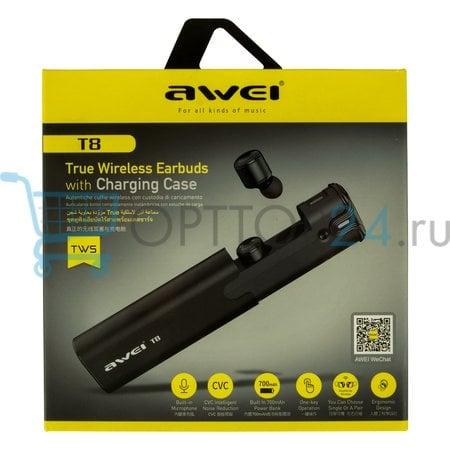 Беспроводные наушники Awei T8 оптом