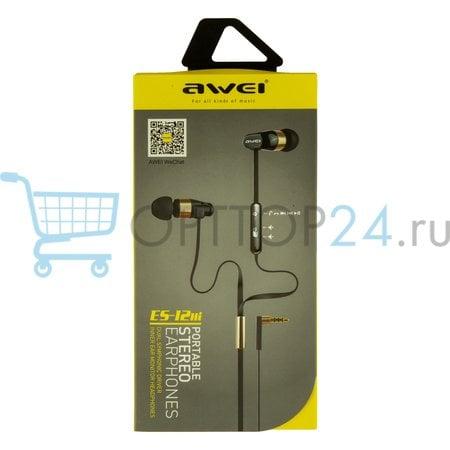 Проводные наушники Awei ES-12Hi оптом