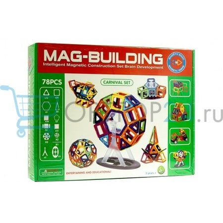 Mag Building 78 деталей оптом