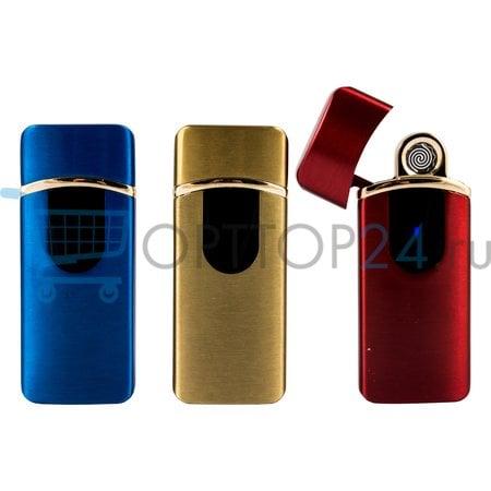 Электронная зажигалка с зарядкой от usb Lighter Classic Fashionable арт.1 оптом