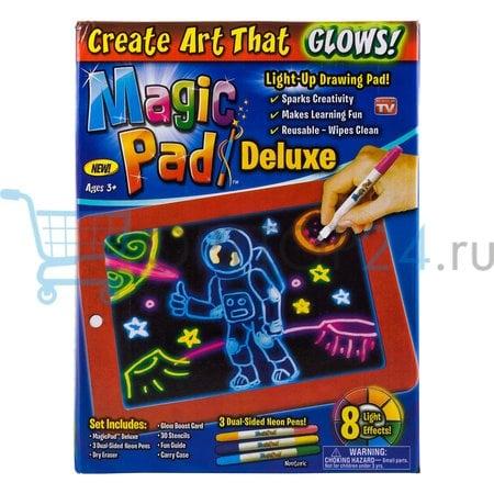 Magic Pad световой планшет для рисования оптом
