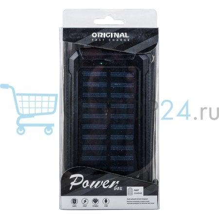 Аккумулятор на солнечной батарее Power Box USB оптом