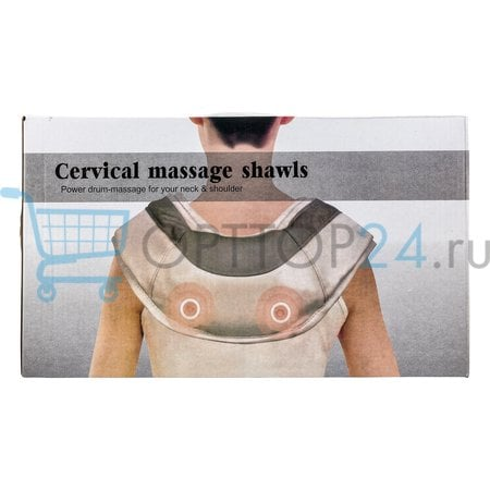 Массажер Cervical massage shawls оптом