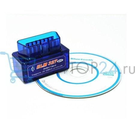 Диагностический сканер Bluetooth ELM 327 оптом