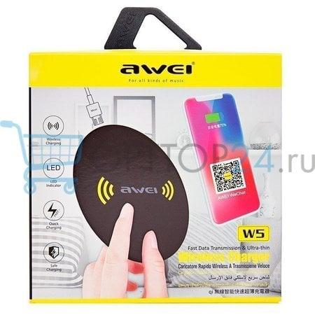 Беспроводное зарядное устройство Awei W5 оптом