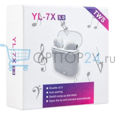 Беспроводные наушники YL 7X 5.0 TWS оптом