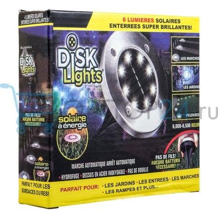 Светильник на солнечной батарее Disk Lights оптом