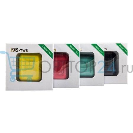 Беспроводные наушники i9s TWS Double V 5.0 цветные оптом