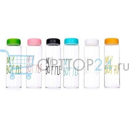 Пластиковая бутылка My Bottle (500 мл) + мешочек оптом