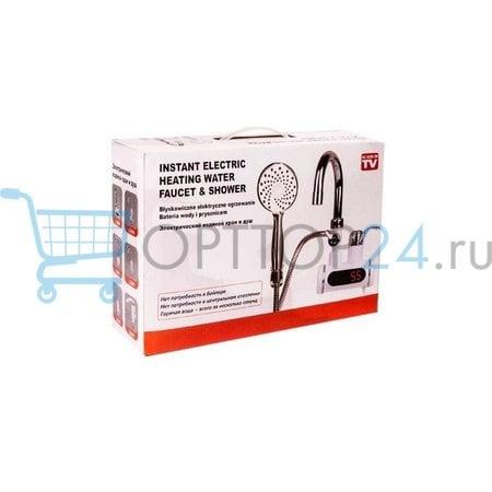 Водонагреватель проточный Instant Electric Heating Water Faucet & Shower оптом