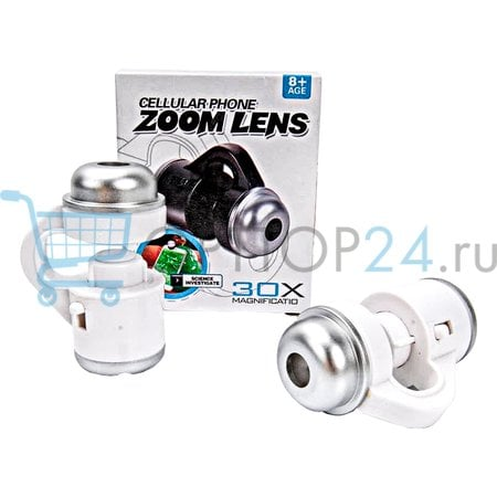 Зум объектив для смартфона Cellular Phone Zoom Lens 30X оптом