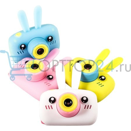 Детский фотоаппарат Зайчик Children's fun Camera Rabbit оптом