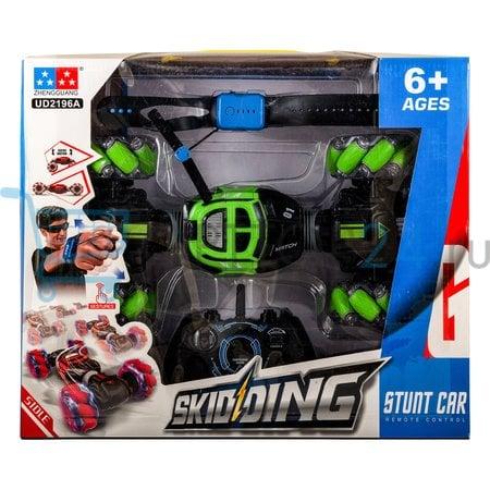 Машинка перевертыш Skidding Stunt Car оптом