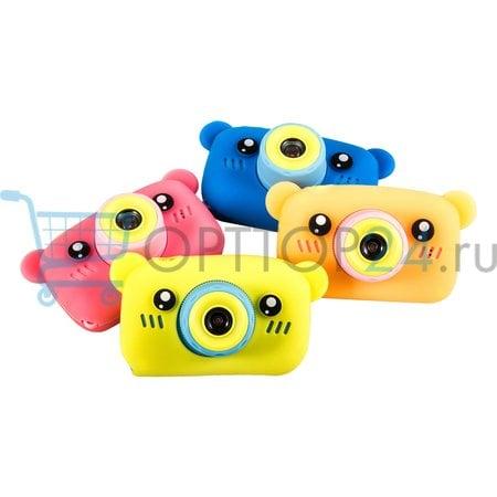 Цифровой детский фотоаппарат Мишка Children's fun Camera оптом