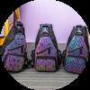 Голографический рюкзак Хамелеон оптом