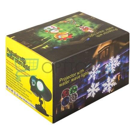 Лазерный проектор Projector with water wave light оптом