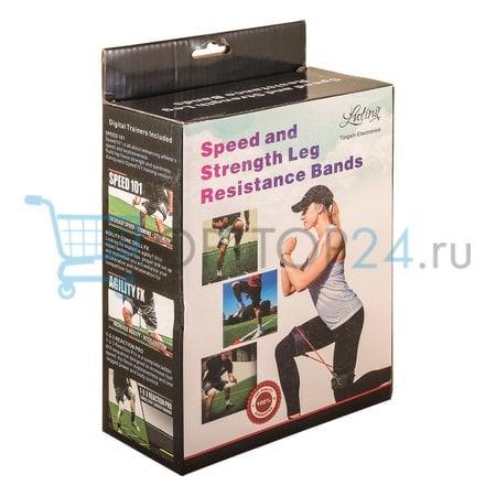Эспандер для тренировки ног Speed and Strength Leg Resistance Bands оптом