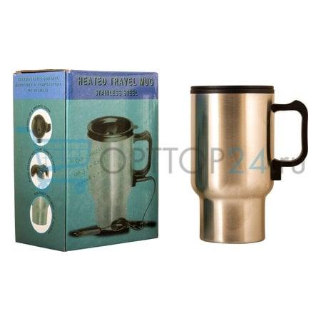 Термокружка с подогревом Heated Travel Mug оптом
