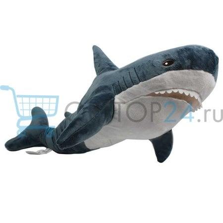 Мягкая игрушка Акула 100 см оптом