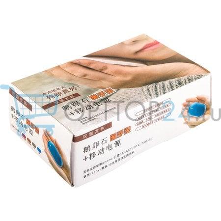 Power bank 5000 мАч - грелка для рук Pebble hand warmer оптом