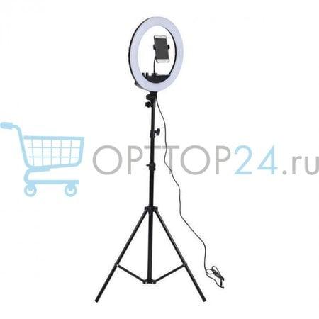 Кольцевая лампа Led ring light 30 см со штативом оптом