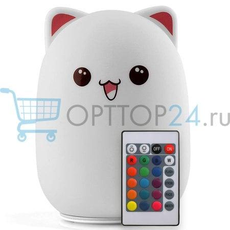 Детский светильник Мишка с пультом управления оптом