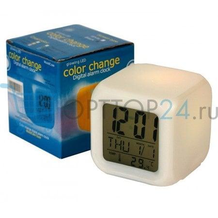 Будильник часы Color Change оптом