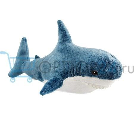 Мягкая игрушка Акула 30 см оптом