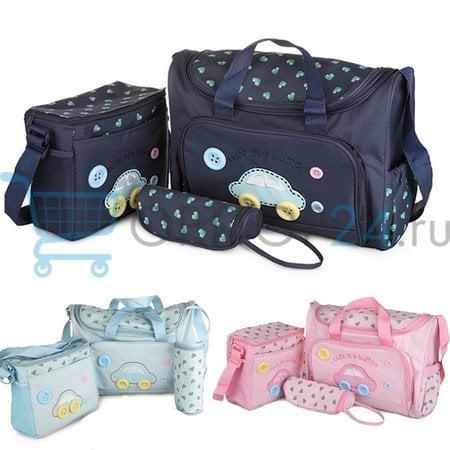 Комплект сумок для мамы Cute as a Button, 3 шт оптом