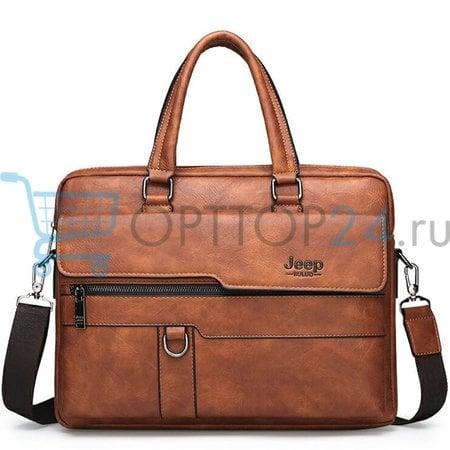 Мужская сумка портфель Jeep Buluo оптом