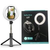 Кольцевая лампа Selfie Stick L07