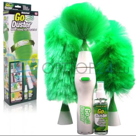 Электрощетка для удаления пыли Go Duster оптом