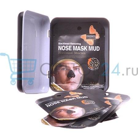 Носовая маска от черных точек DIZAO Nose Mask Mud Blackhead-Removing оптом