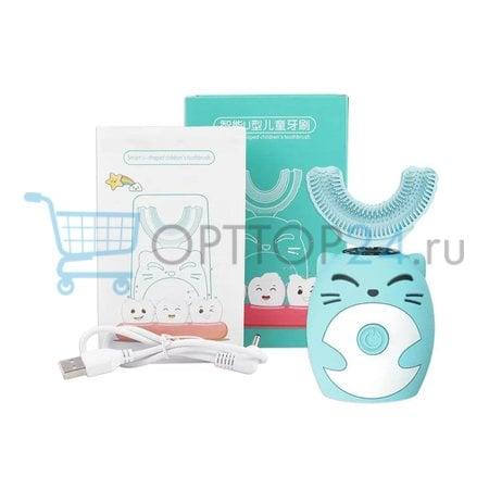 Детская зубная щетка капа Smart U-shaped оптом
