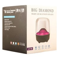 Портативная колонка Big Diamond Smart LED Bluetooth Speaker