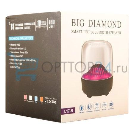 Портативная колонка Big Diamond Smart LED Bluetooth Speaker оптом