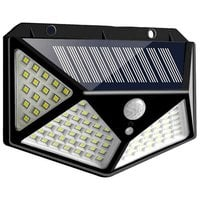 Светильник на солнечных батареях Solar interaction wall lamp