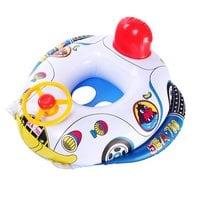 Надувной круг детский Машинка с рулем