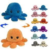 Мягкая игрушка выворачивающийся осьминог